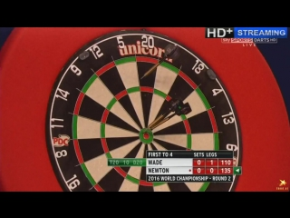 James Wade vs Wes Newton (PDC World Darts Championship 2016 / Round 2)