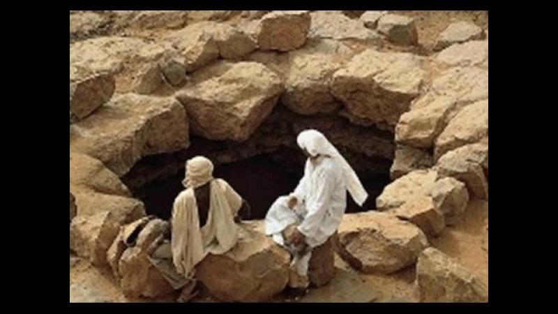 Колодец, в который бросили Пророка Юсуфа (мир Ему)