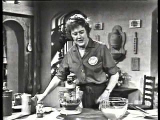 Julia Child The French Chef- Queen of Sheba Cake