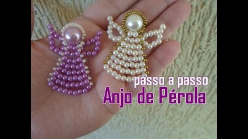 NM Bijoux - Anjo de Pérolas - passo a passo