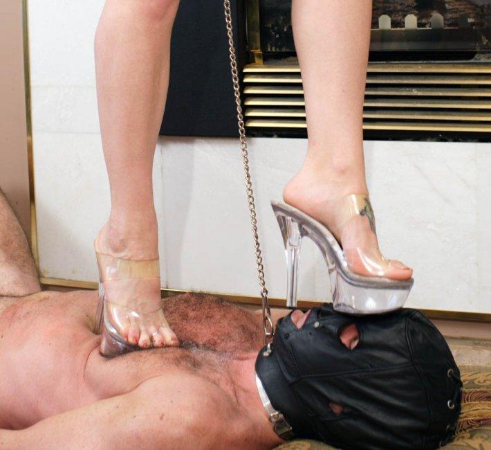Double High Heel Trample Troubles