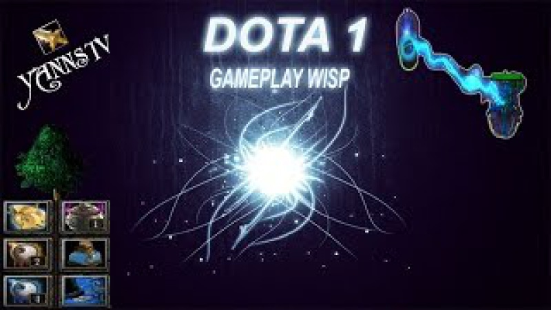 DotA 6.83d Gameplay Io, Guardian Wisp   supporting! 4-7k pts