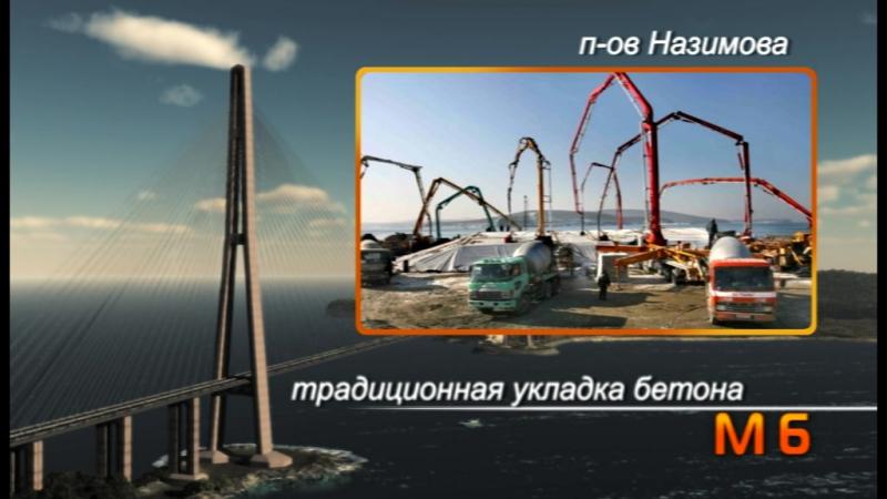 Мост на о Русский Владивосток история строительства 2012 год