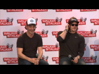 Andrew Lincoln & Norman Reedus WS London 2016 Panel
