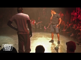 Bboy Junior -VS- Bboy Neguin | Freestyle Breaking Battle | URBAN DANCE CAMP