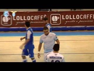 Italy League - Round 16 - Lollo Caffè Napoli 5x2 Lazio C5