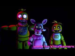"""[SFM FNAF2] Collab """"The Mangle"""" REMADE 