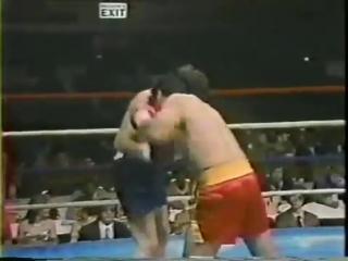 1982-11-20 Tony Ayala Jr vs Carlos Maria del Valle Herrera