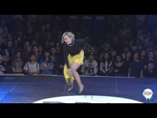 SDK ASIA 2016 Finals - Waacking 1on1 - EL J  Vs Maya