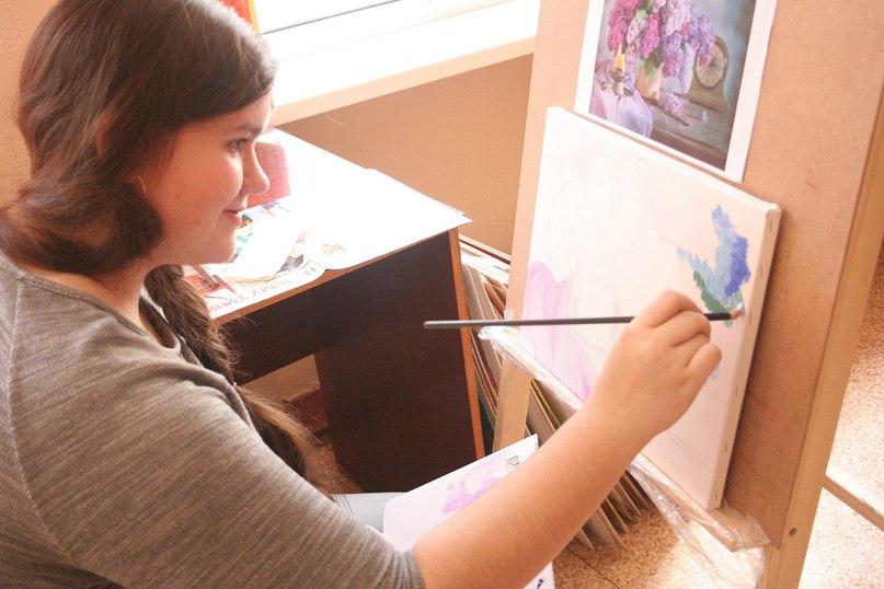 Рисуем картины по фотографии