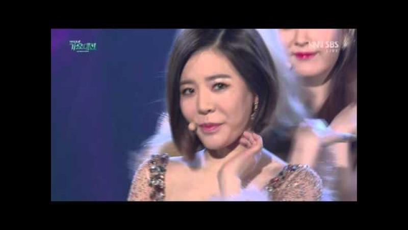 151227 Girls Generation (소녀시대) - Lion Heart (라이언 하트) @ 2015 SBS 가요대전
