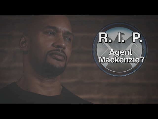 R I P Agent Alphonso Mackenzie