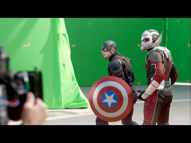 Съемки фильма Первый Мститель Противостояние Гражданская война Filming Captain America Civil War
