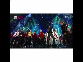 BTS DANCING TO PSY DADDY I CANT OMCEJBSXI CANT STOP LOOKING AT JIMIN THOUGH SHIT