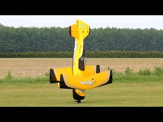 PITTS M12 PYTHON HUGE RC SCALE MODEL FLIGHT WITH FAILED LANDING / Pitts Meeting Vechta Germany 2016