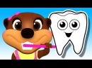 Tooth Brush Color Game Brush Your Teeth Song Learn Colours Good Habits with Busy Beavers