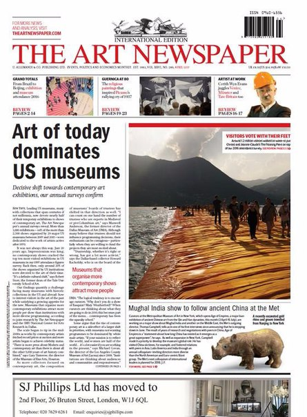 The Art Newspaper - April 2017