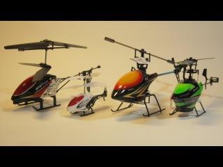Какой вертолет выбрать 2, 3 или 4 канала, rc toys