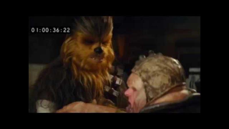 Chewbacca rips off Unkar Plutt's arm (Longer Version)