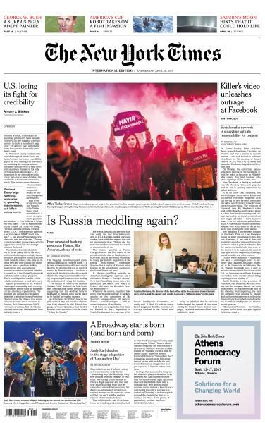 International New York Times 19 April 2017 FreeMags