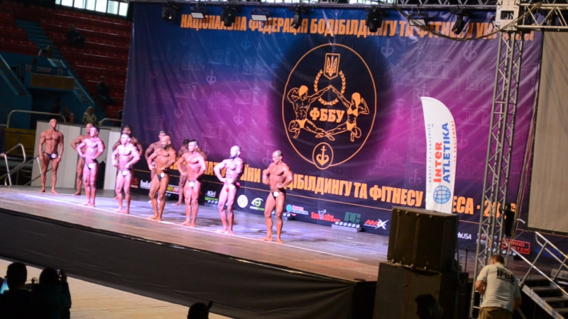 Чемпионат Украины по бодибилденгу 2016