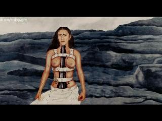 """Сальма хайек (salma hayek) голая в фильме """"фрида"""" (frida, 2002, джули тэймор) 1080p"""