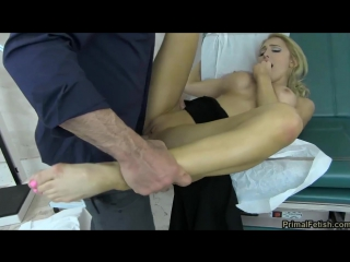 Alix lynx [2017, blonde, blowjob, facial, fetish, forced, groping, forced orgasms, domination, medical clinic, big tits, 720p]