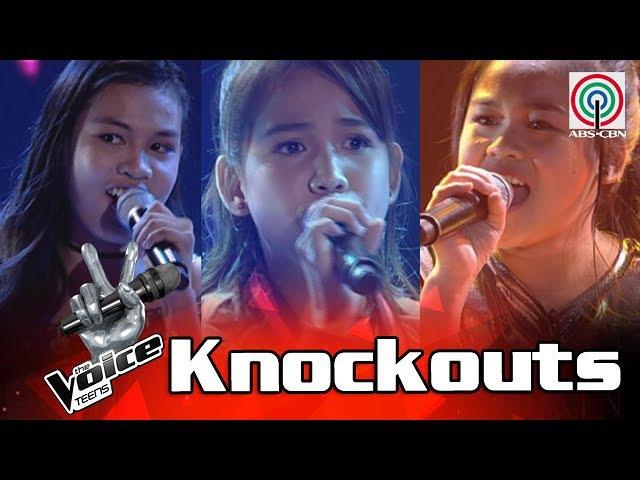 The Voice Teens Philippines Knockout Round Christy vs Zyra vs Arisxandra