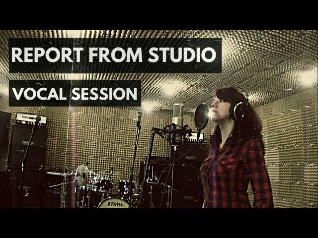 Багира Vocal session in Hellcraft studio