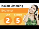 Italian Listening Comprehension - Ordering a Pizza in Italian