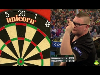 Raymond van Barneveld vs Ron Meulenkamp (Coral UK Open 2017 / Round 4)