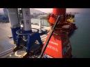 Installation 3,000mt Huisman Offshore Mast Crane onboard Ezras Lewek Constellation