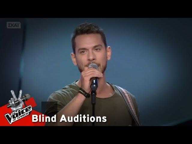 Δημήτρης Ρούσσος Θέλω να γυρίσω 12o Blind Audition The Voice of Greece