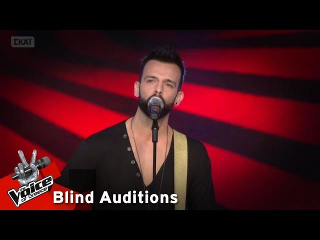 Παντελής Καστανίδης Πόσες φορές 12o Blind Audition The Voice of Greece