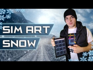 SIM ART - Snow ( Dubstep DPG)