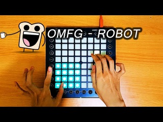 OMFG - Robot but in TheFatRat style, Launchpad cover