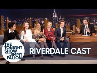 Октябрь 2017 | Каст сериала «Ривердейл» на шоу Джимми Фэллона