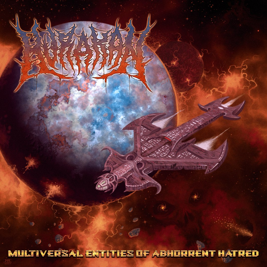 Hurakan - Multiversal Entities Of Abhorrent Hatred (2017)