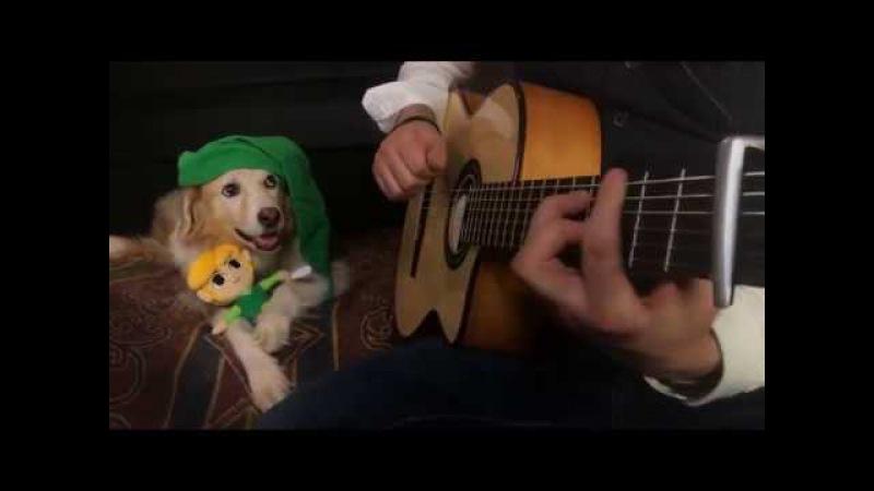 The Legend of Zelda - Main Theme Overworld Theme (Fingerstyle Guitar)