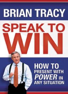 Brian Tracy - Speak to Win