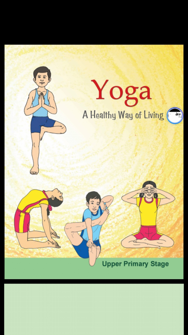Book cover yoga a healthy way of living