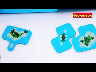 Логическая игра bondibon smart games пираты-прятки