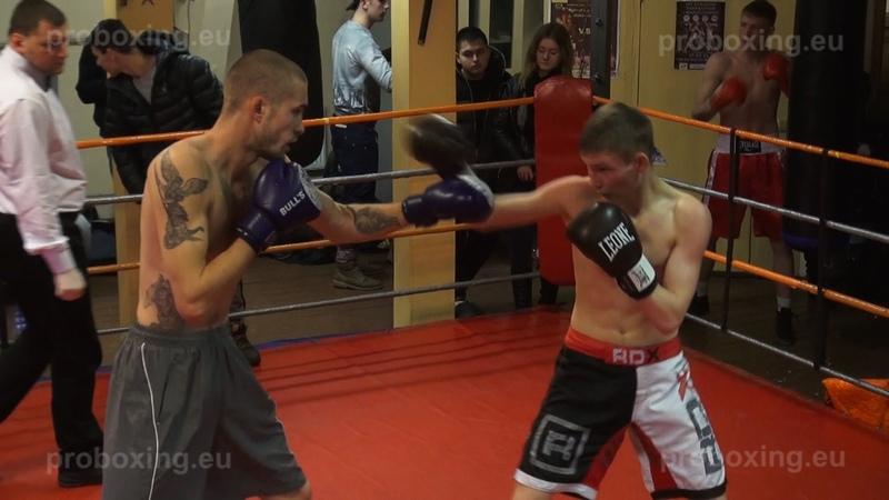 08.02.2015 Deniss Kornilovs (LAT) VS Valeriy Demidko (RUS) proboxing.eu