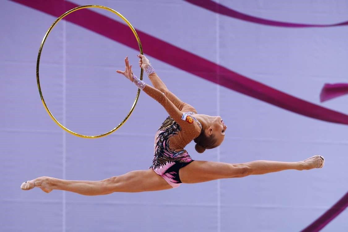 Как фотографировать художественную гимнастику
