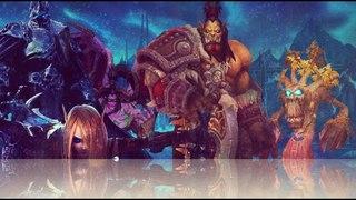 Warcraft III (World Of Angel Arena ) + music