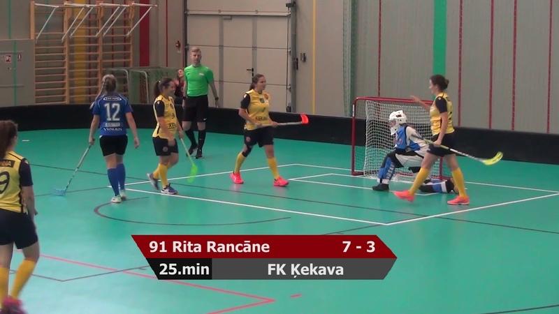 ELVI FL: FK Ķekava - Lekrings 22:5 (30.09.2018)