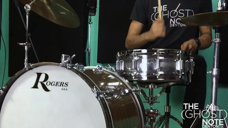 Rogers Dynasonic 14x5 Snare Drum w_Bridge - LOW TUNING