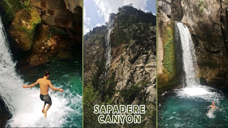 Сападере Каньон Sapadere Canyon Kanyonu Alanya Turkey