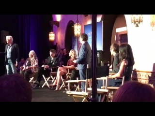 """Robert Pattinson at #AFIFest for an """"Indie Contenders Roundtable"""" discussion"""