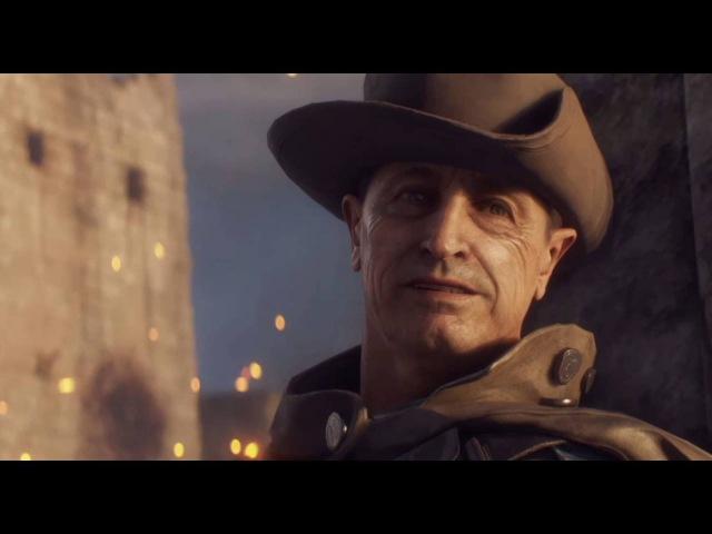 Безумно красивый но в тоже время грустный момент из Battlefield 1